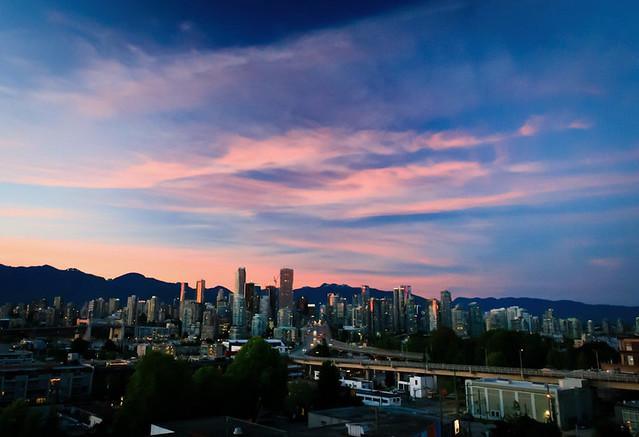 Beautiful Solstice Sunset