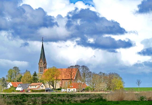 Kirche in Langwarden, Wesermarscj