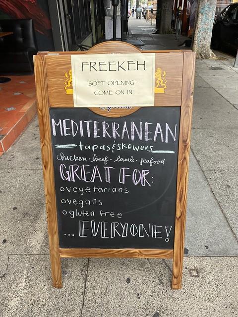 Freekeh (Pork Store Cafe) on 16th Street