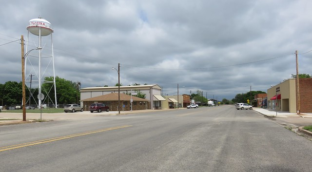 Downtown Tuscola, Texas