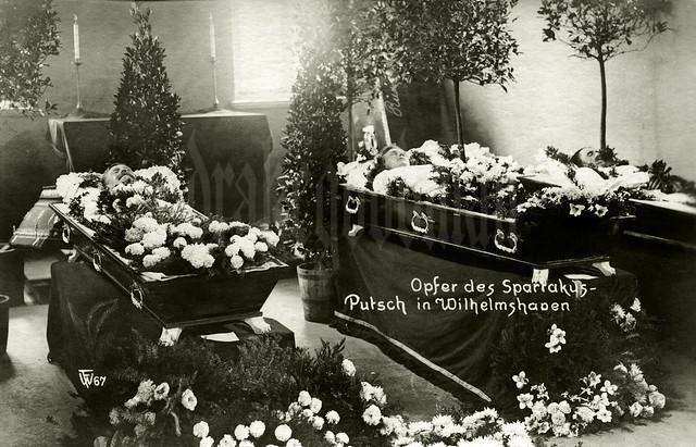 """""""Opfer des Spartakus-Putsch in Wilhelmshaven"""""""