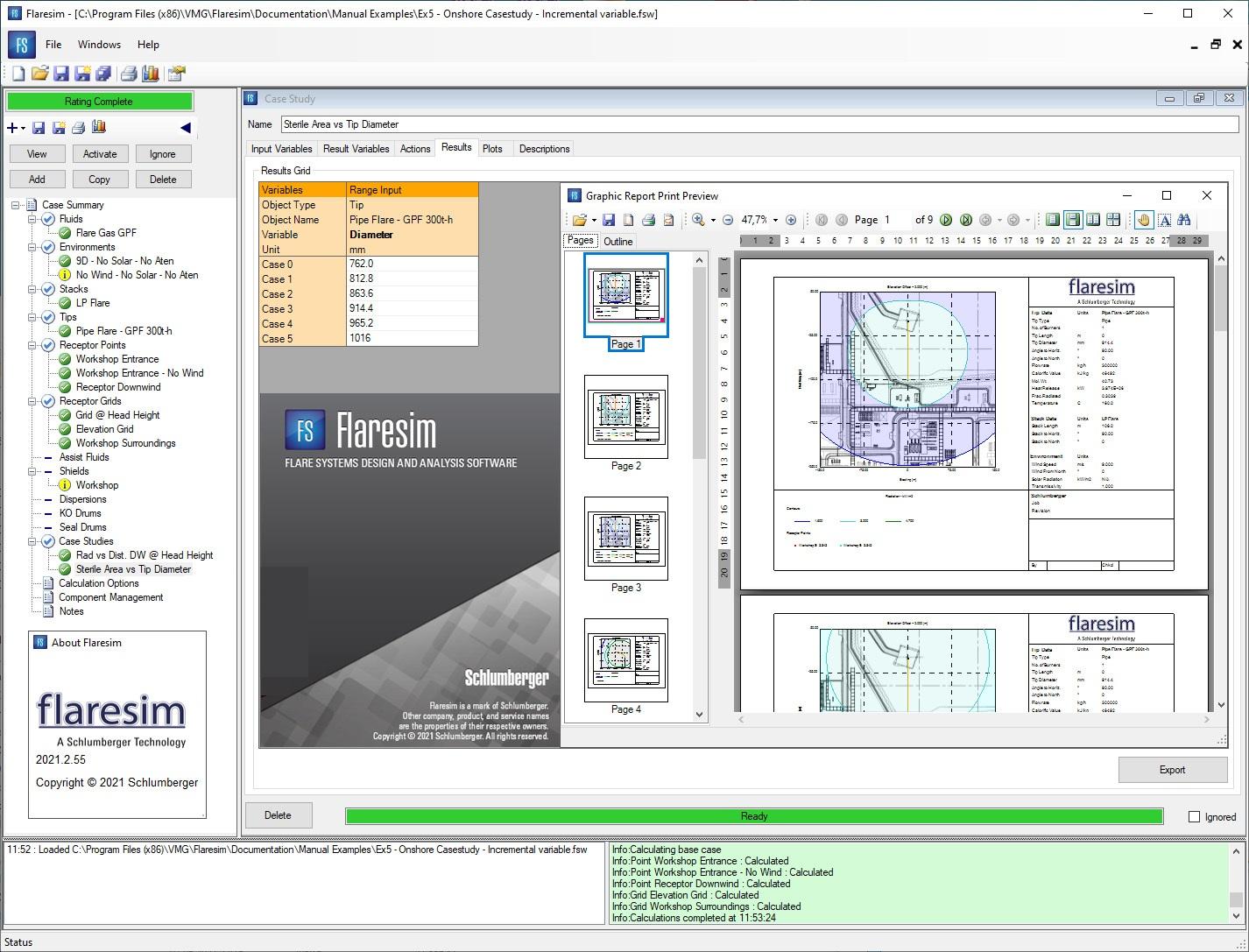 Working with Schlumberger (ex. Softbits) Flaresim 2021.2.55 full