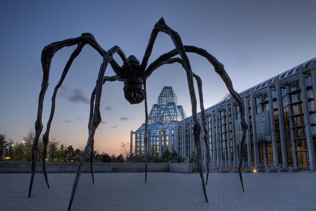 Evening, National Art Gallery, Ottawa, Ontario, Canada