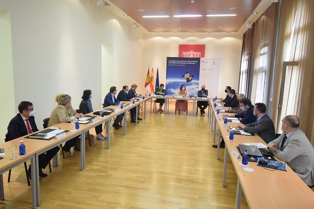 Reunión del Consejo de Captación de Inversiones de Castilla-La Mancha