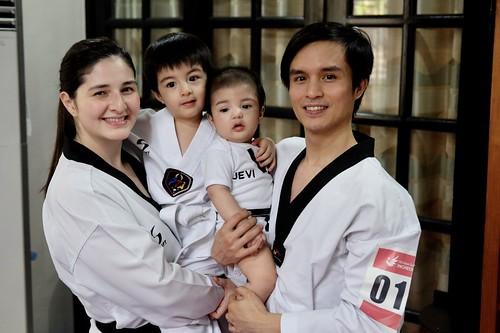 MILO - Japoy Lizardo and family