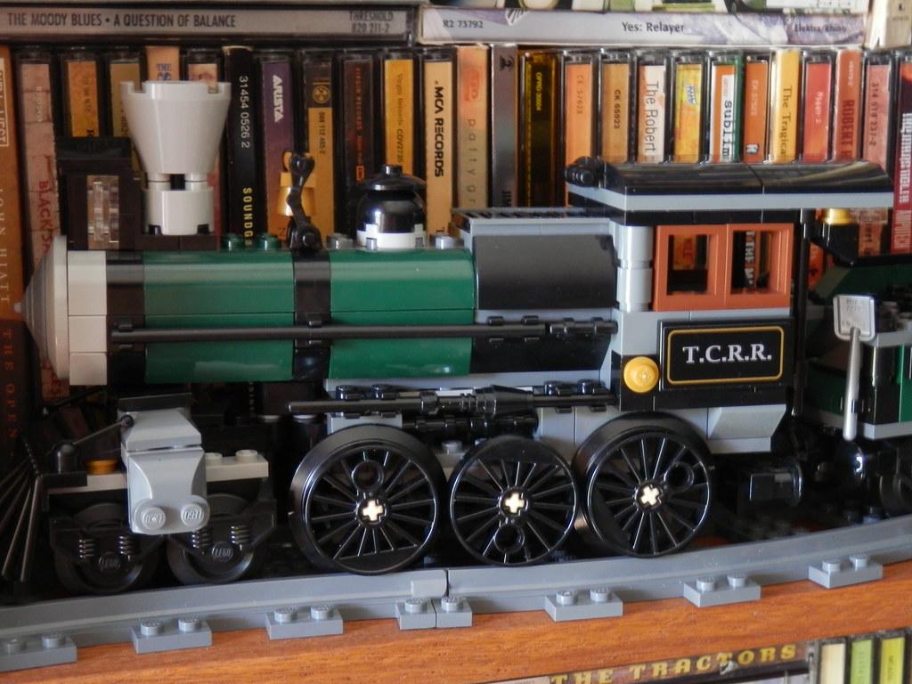 Lego 79111 Disney Lone Ranger Constitution Train locomotive