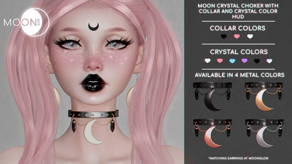Moon Crystal Choker