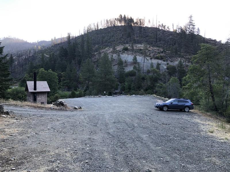 McCaleb Ranch parking