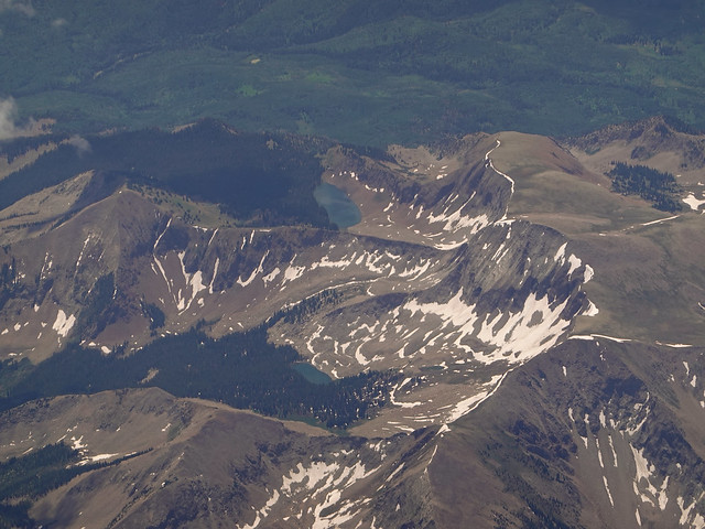 Mount Gunnison and Gunnison Lake