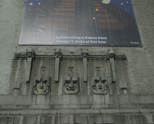 Detail, The National Theatre, Bergen