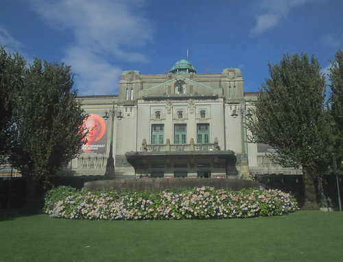 The National Theatre, Bergen, from Garden to Front