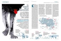 Estado del lobo en la península