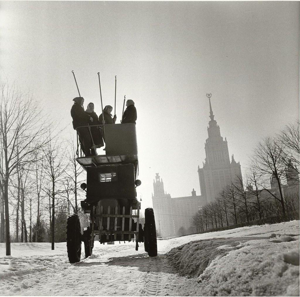 1960. Ленинские Горы