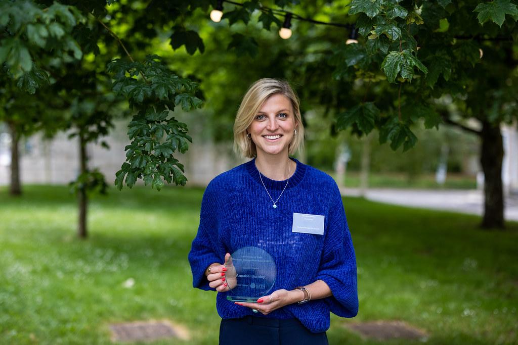 Headshot of Annabel Burnley, recipient of an Award