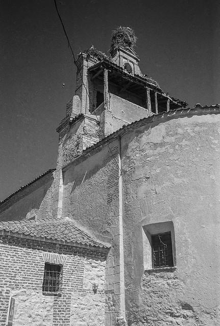 Martín Muñoz de la Dehesa, iglesia de Ntra. Sra. de la Asunción del Castillo.