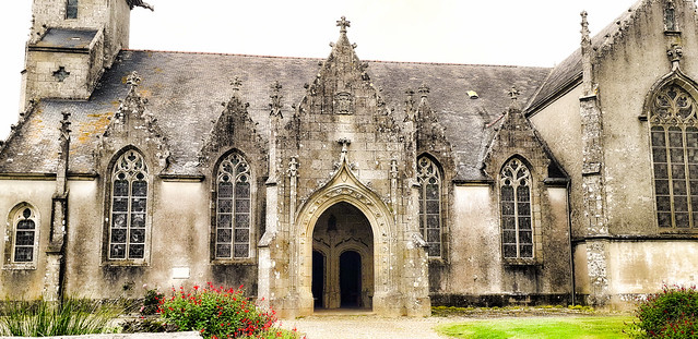 Eglise bretonne.