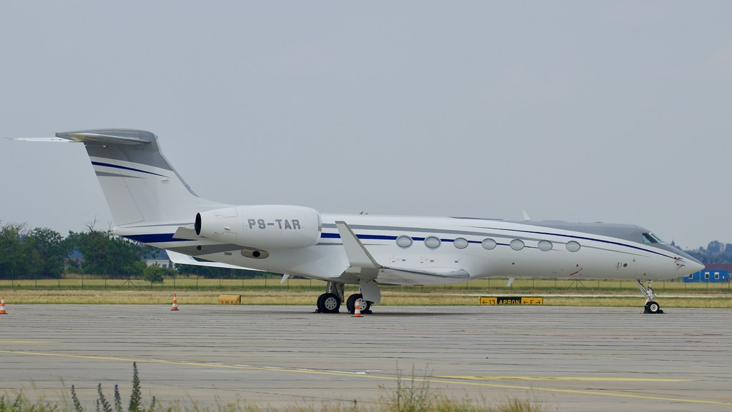 PS-TAR Private Gulfstream G550 © P. Marianic