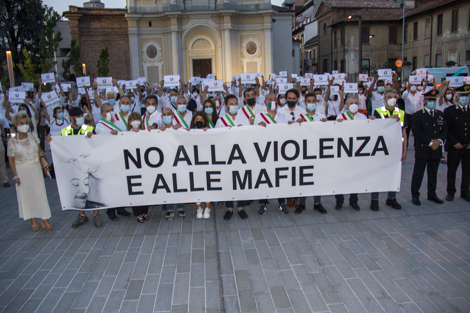 No alla Violenza e alle Mafie