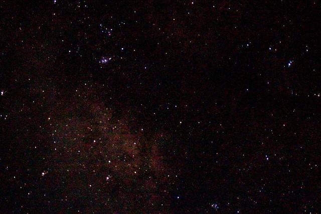 Cúmulo Mariposa, Nebulosas Lago y Trífida....