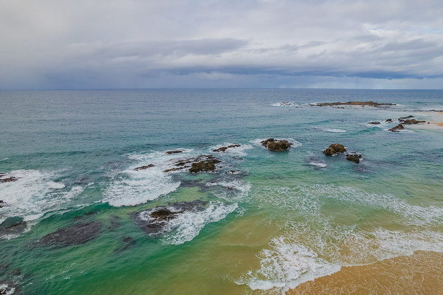 A winters day at Mystery Bay beach