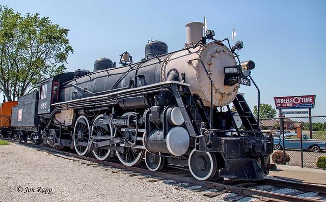 Wheels O Time - Rock Island RR 886 Steam Locomotive (1910) 1 (edit)
