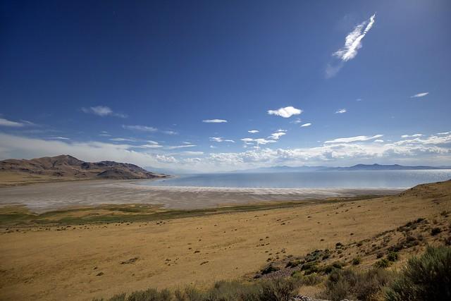 Antelope Island,Great Salt Lake,Utah,USA