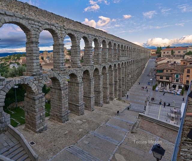 El Acueducto de Segovia _DSC6213-Panorámica 3 M ma