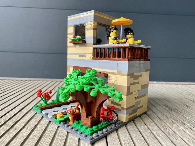 Tiny Tan House