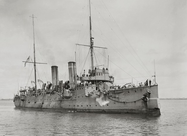 HMS Cambrian British C class light cruiser