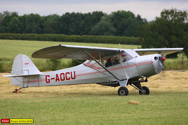 G-AOCU | Taylorcraft Auster 5 | Private