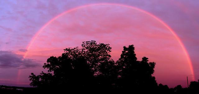 Amish Sunset Rainbow [FlickrFriday] [Wake Up]
