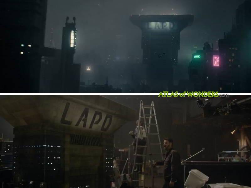 LAPD tower Blade Runner