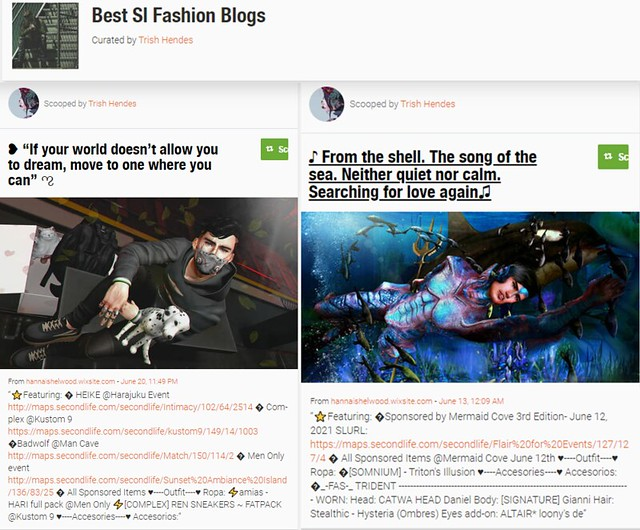 So honored! 💓 My posts were shared at Scoop.it - Best Sl Fashion Blogs