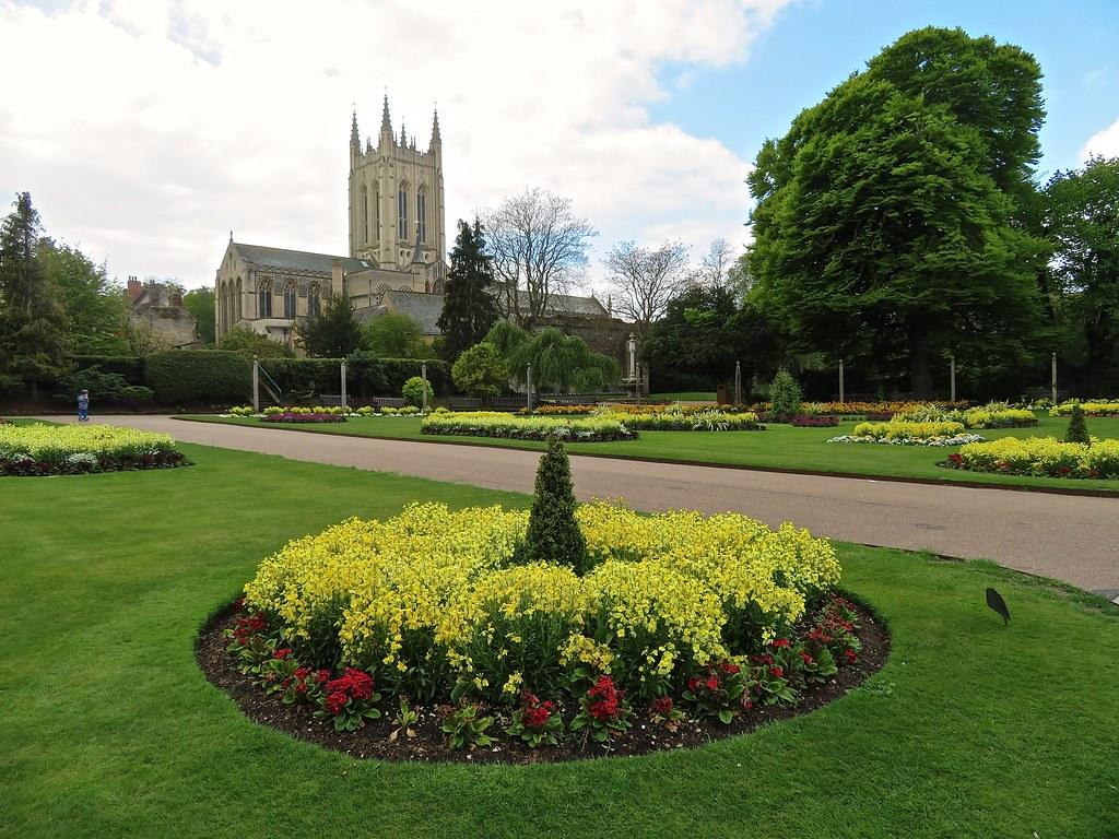 Bury St Edmunds, Suffolk - Abbey Gardens and Precincts
