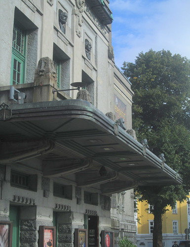 Entrance Canopy, The National Theatre, Bergen