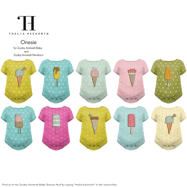 For Zooby Animesh Babies - Onesie (Homemade Popsicles)