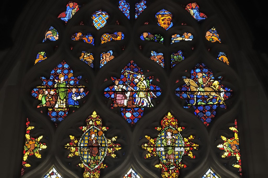 'Becket Window', Lucy Chapel, Christ Church, University of Oxford, Oxford, England