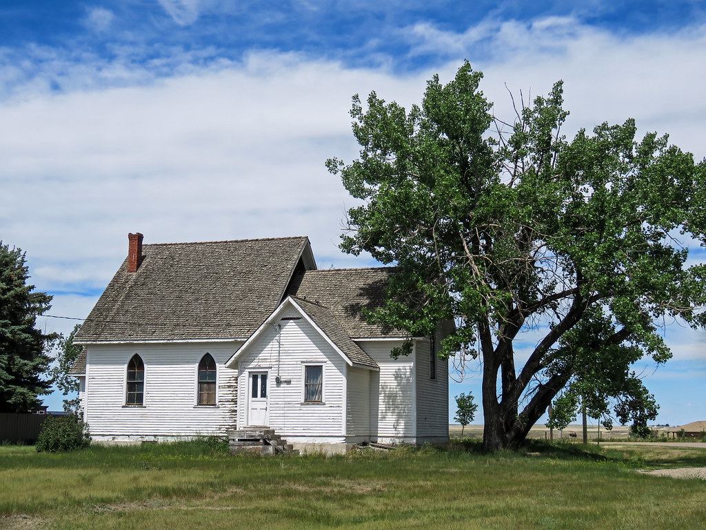 03 Old country church, Southern Alberta