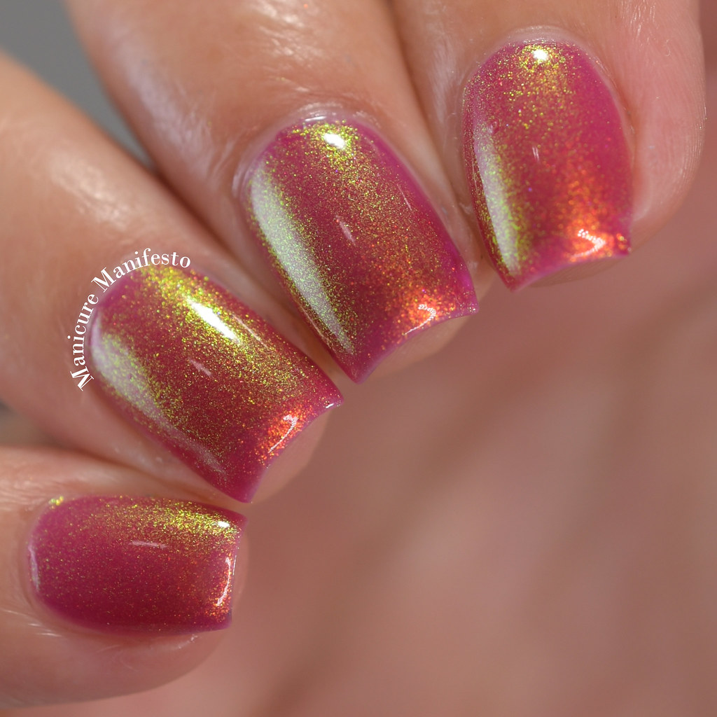 Paint It Pretty Polish Tangy Glow review