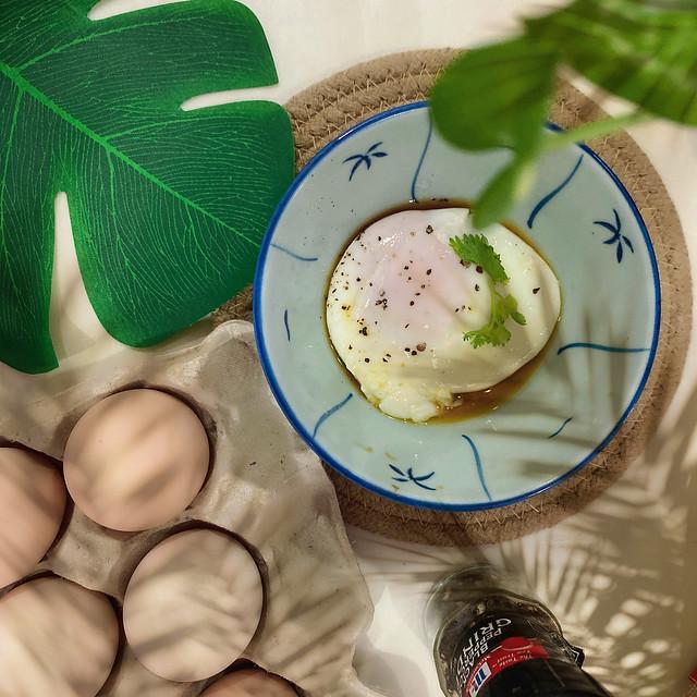 Fresh kampung egg