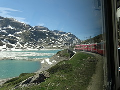 Am Bernina Pass