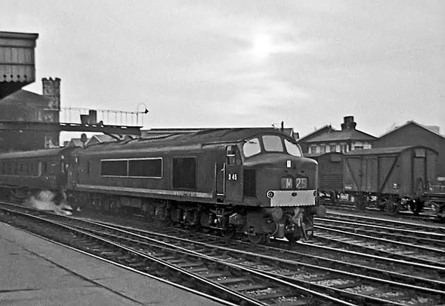 D45, Bristol Temple Meads, April 1964