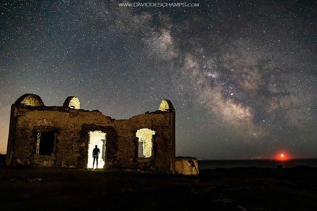 Milky Way visitor