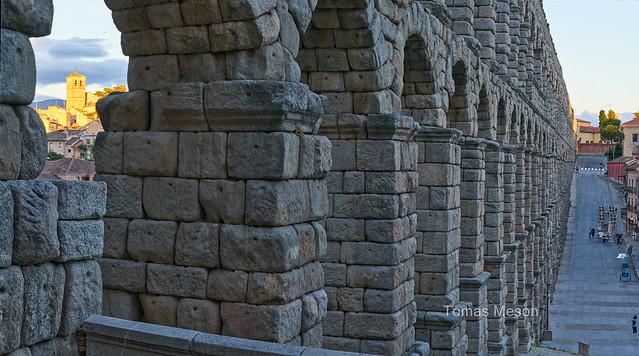 Acueducto  . Segovia _DSC6281-Panorámica 13 M ma