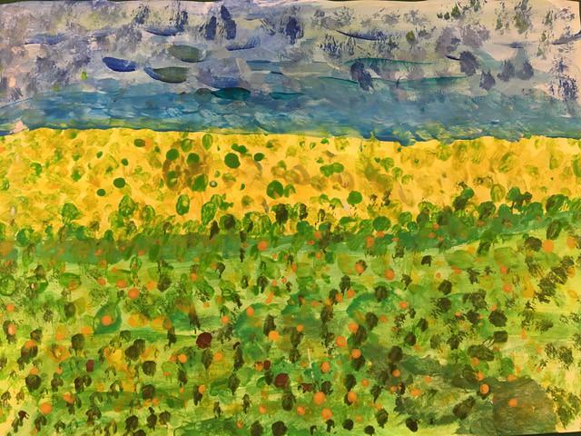 Year 3 Summer Artwork - Landscapes