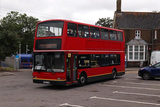 SWR Rail Replacement, Bear Buses, PVL223, Y823TGH