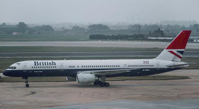 G-BIKJ BA 757-236