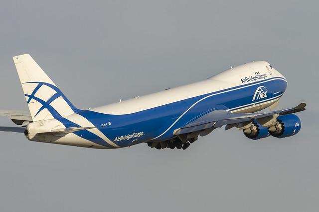 VQ-BLQ AirBridgeCargo Boeing 747-8HVF cn:37581 / 1448