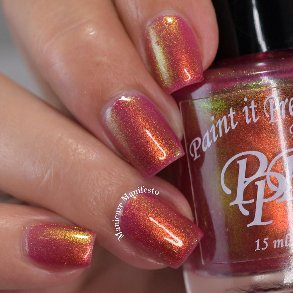 Paint It Pretty Polish Tangy Glow