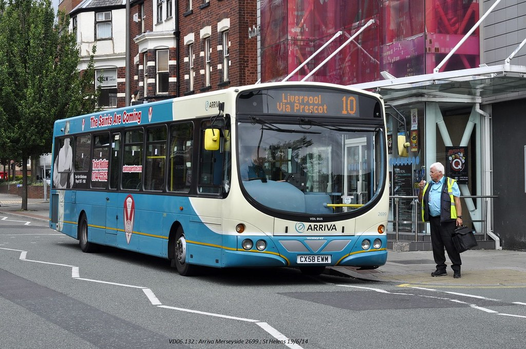 Arriva North West 2699 140619 St Helens*